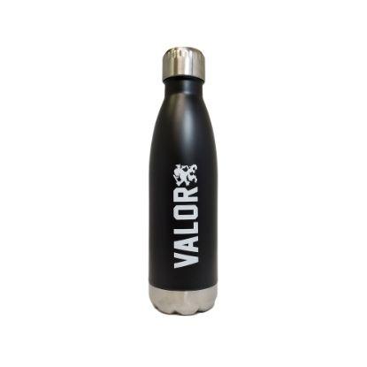 Picture of Valor Water Bottle (Black/Metal)