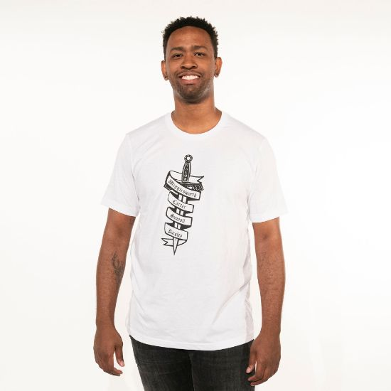 Picture of Valor Legacy Sword T-Shirt (White)