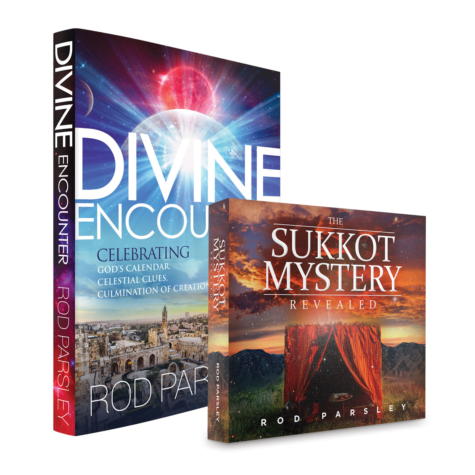Picture of Divine Encounter (Book) & The Sukkot Mystery Revealed (Book)